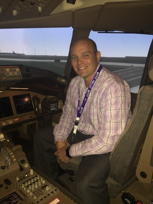 Chris in 777 sim